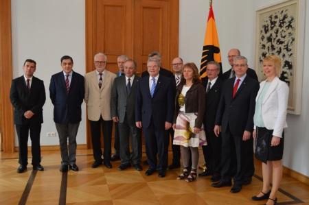 Minderheitenrat_Gespräch mit Bundespräsident Gauck