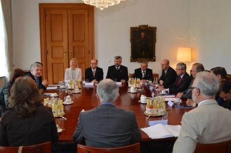Minderheitenrat_Gespräch mit Bundespräsident Gauck_2